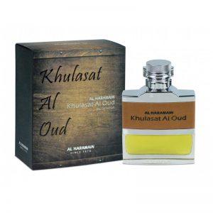 khulasat al oudh 100 ml eau de parfum al haramain